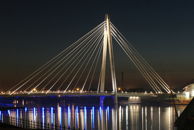 Picture of the Marine Way Bridge next to the Sunnysie Hotel in Southport, Bed and Breakfast, Guest House, Guest House in Southport, The Southport Hotel, Bed and Breakfast Located in Southport